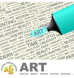 ART vector image vector image