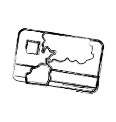 Credit card bank money symbol vector