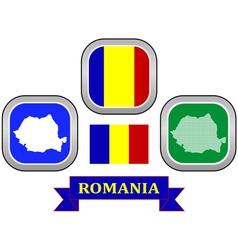 Symbol of romania vector