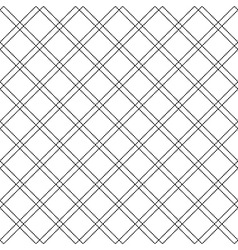 Diagonal check plaid seamless pattern vector image