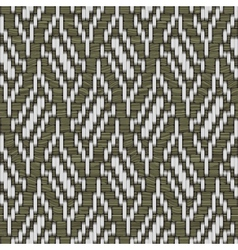 weaving ornament vector image