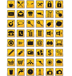 icons 25 vector image
