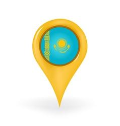 Location kazakhstan vector