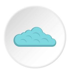 Sky cloud icon circle vector