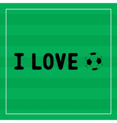 I love football1 vector