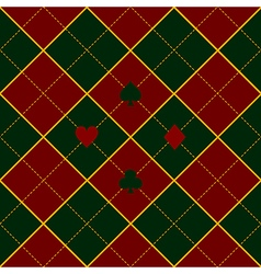 Card suits green royal red diamond background vector