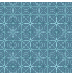 Traditional Fair Isle Pattern vector image vector image