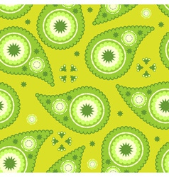 Modern paisley pattern vector
