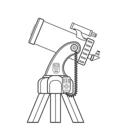 Outline catadioptric telescope vector