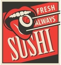 restaurant Japanese cuisine vector image