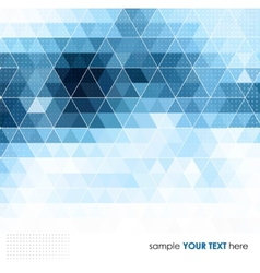 Abstract technology background in color vector image vector image