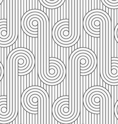 Flat gray with circles with continues lines vector
