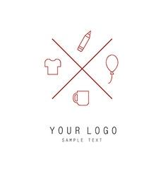 logo 2 vector image