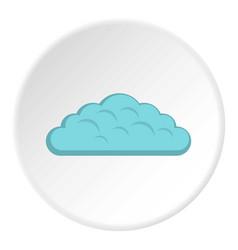 Spring cloud icon circle vector