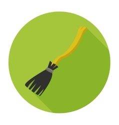 witches broom flat vector image vector image