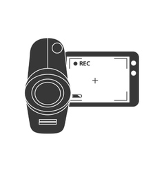 Video camera cinema modern vector