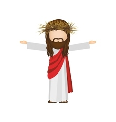 Avatar religious design of jesus christ vector
