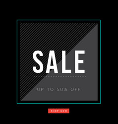 abstract sale background vector image