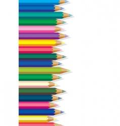 Coloring pencils vector