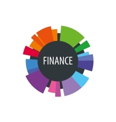 Logo finance vector
