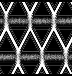 Graphic triangular pattern vector