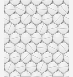 Seamless texture of pill for design vector
