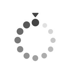 Loading bar flat icon vector