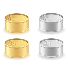 Metal tin can 03 vector