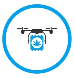 Pharmacy therapy air copter shipment icon vector