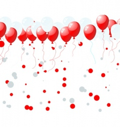 balloons vector image vector image