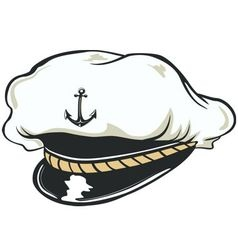 CAPITAN CAP vector image