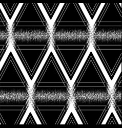 Graphic triangular pattern vector