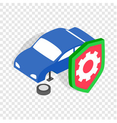 repair machine isometric icon vector image vector image