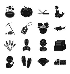 Tourism circus delivery and other web icon in vector