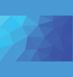 Blue-purple triangle polygon vector