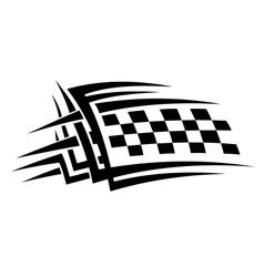 Tribal sports tattoo vector image