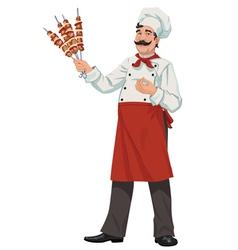 Happy chef - vector