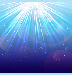 Blue Lights background vector image vector image
