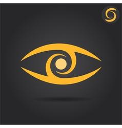 Eye logo sign vector