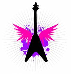 flying v vector image
