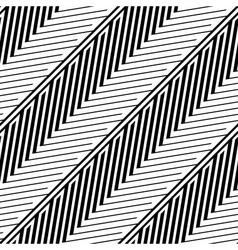 Herringbone style geometric optical black and vector