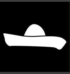 sombrero it is icon vector image