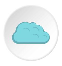 Storm cloud icon circle vector