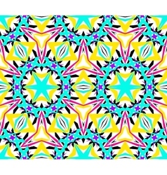 Intricate kaleidoscopic seamless pattern vector