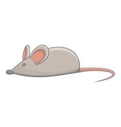 Mouse toy for pet icon cartoon style vector