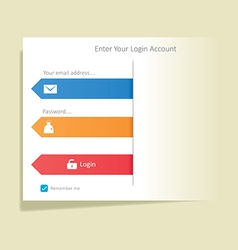 User login 29 vector