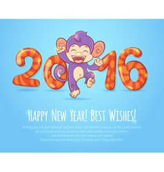 New year chinese celebration card vector