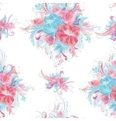 Fresh Romantic Pattern vector image