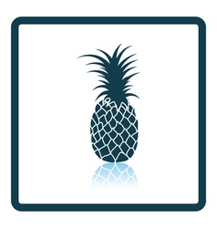 Icon of pineapple vector