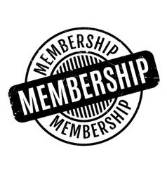 Membership rubber stamp vector